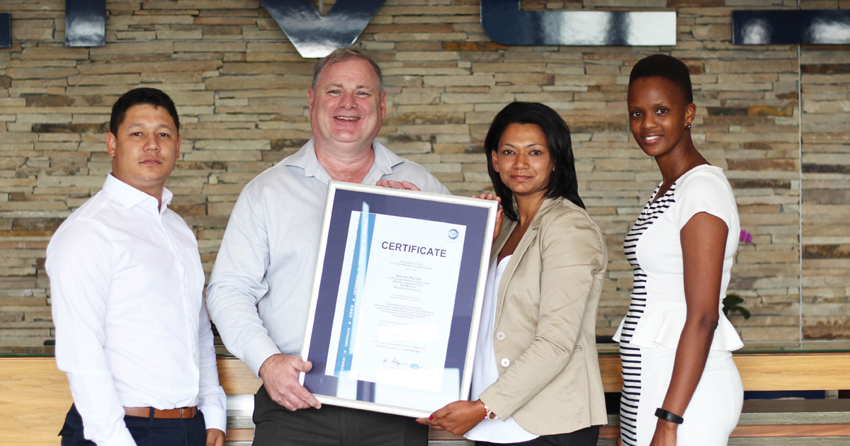 Congratulations ISO Certification