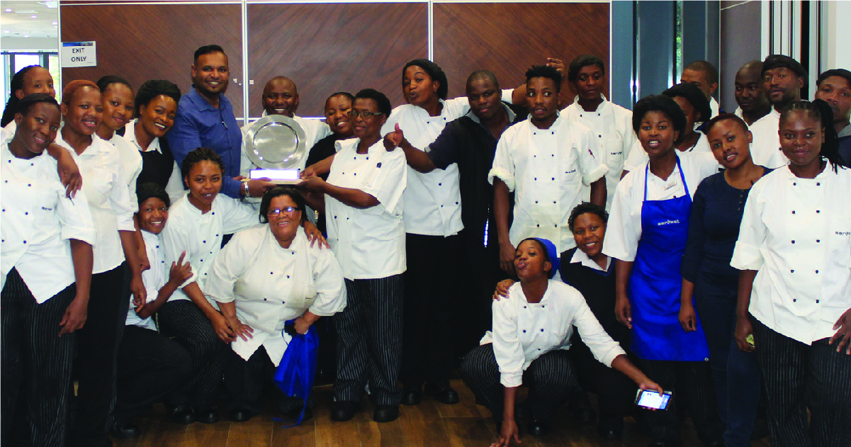 Catering health and safety award for Stats SA