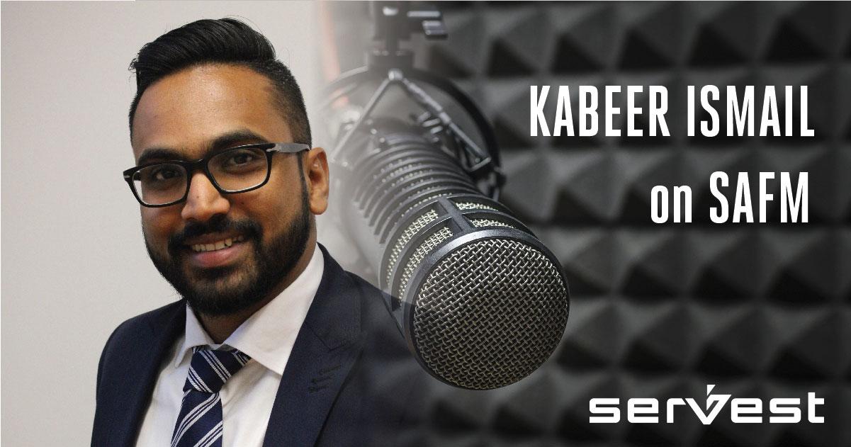 Kabeer Ismail talks with Ashraf Garda on SAFM