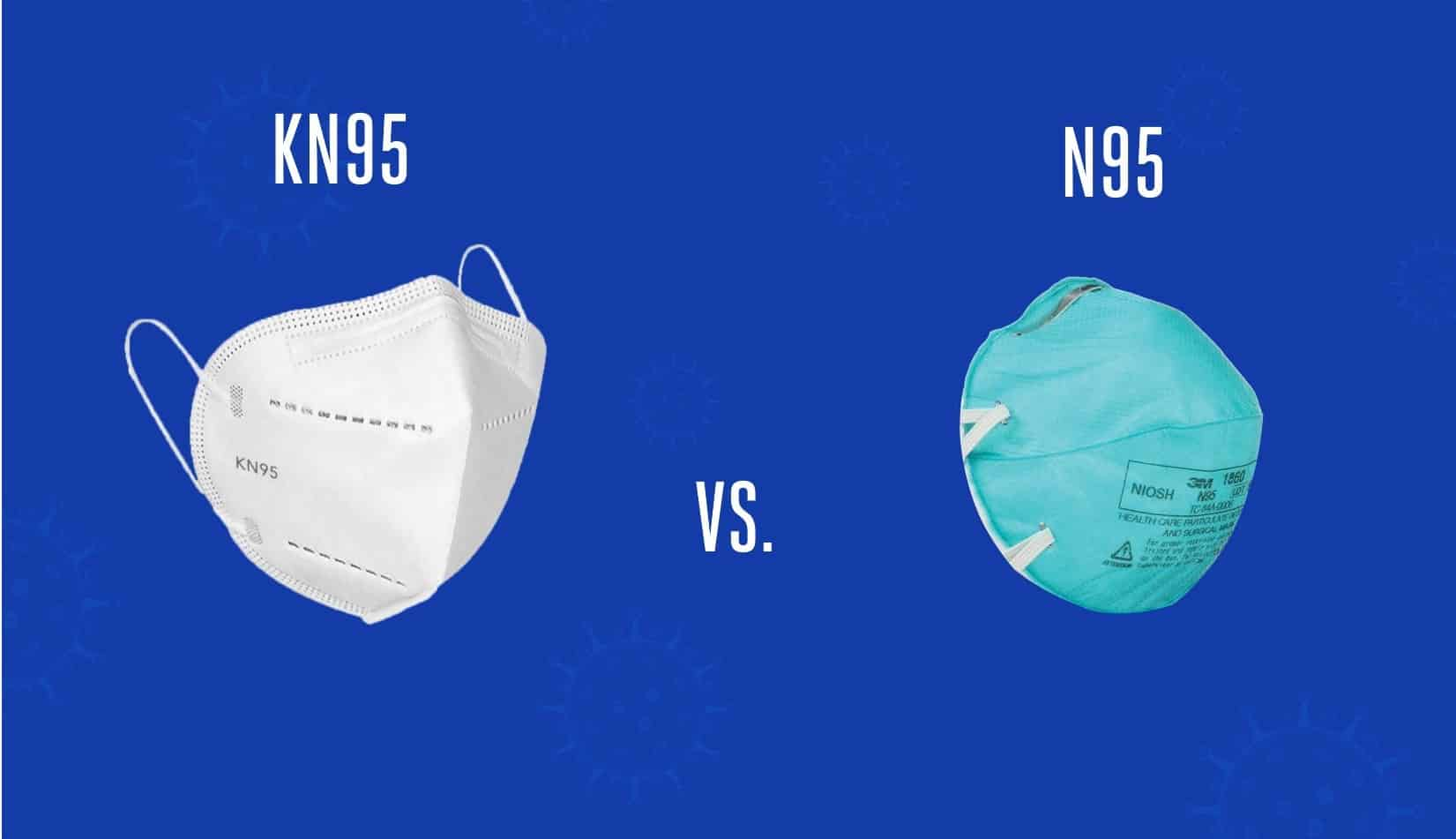 KN95 or N95 1860 – What's the difference?